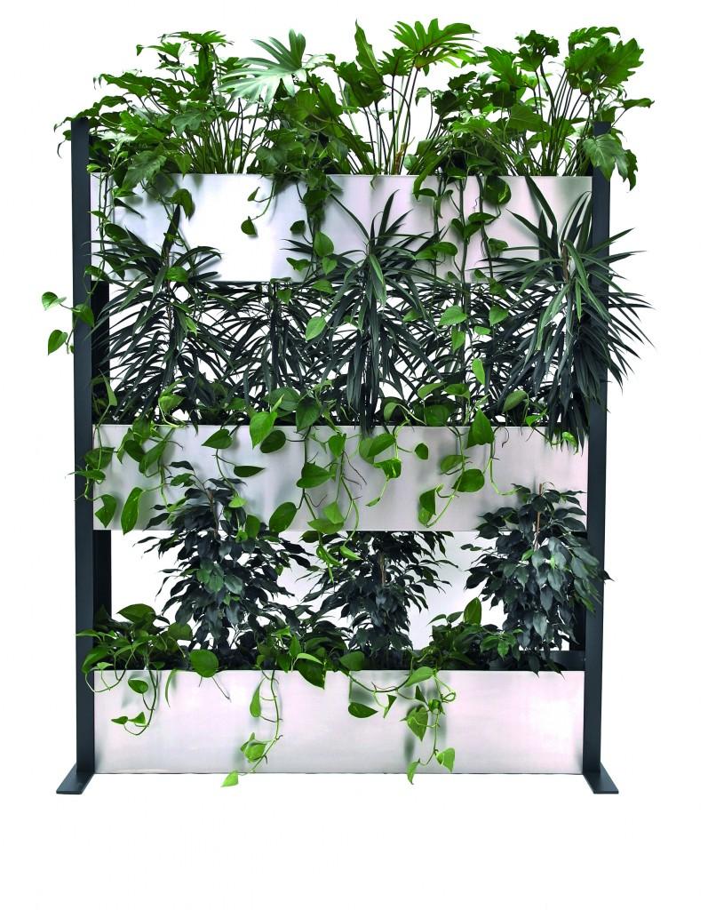 Bepflanzte Wand grüne raumteiler einfach top hydro profi line pflanzsysteme