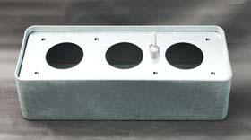 Basic 80 cm x 30 cm x 22 cm Sideboardgefäß inklusive Hydro Profi Line System