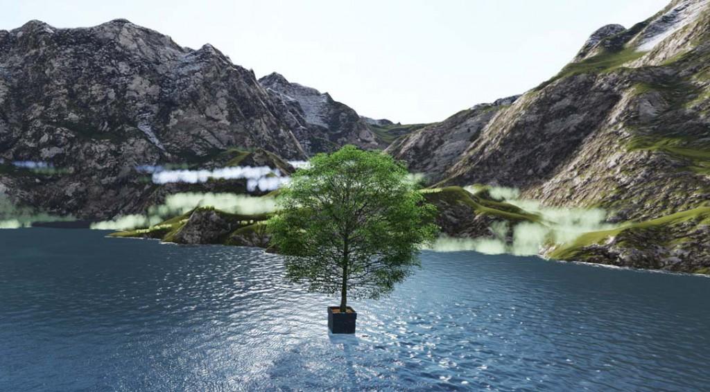 Baum im See Hydro Profi Line