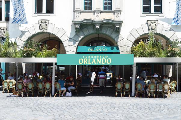 Pavillons Orlando begrünt