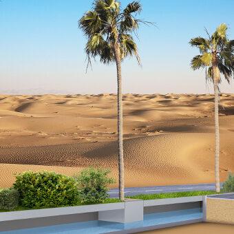 Wüstenbegrünung